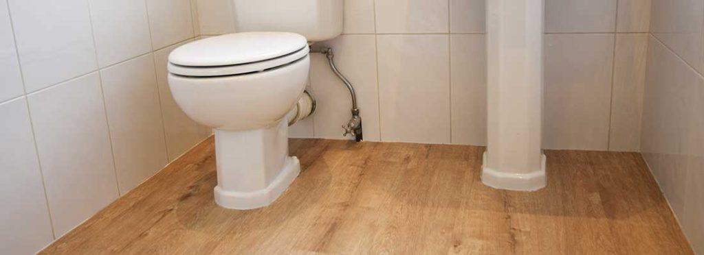 Installation of Bathroom flooring in Didsbury