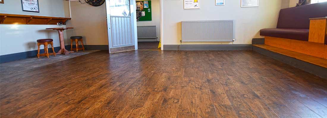 Installation of Karndean Commercial Flooring Manchester