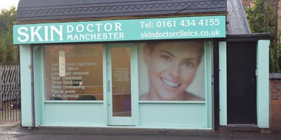 Installation of flooring in Skin Doctor Manchester