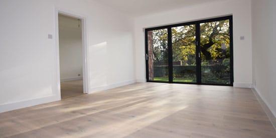 Installation of Wood flooring in Bolton