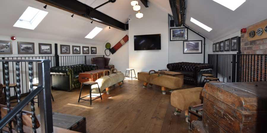 Installation of commercial flooring in Salford