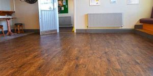 Installation of Karndean Commercial flooring