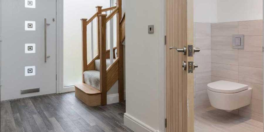 Installation of Karndean flooring in Alderley Edge