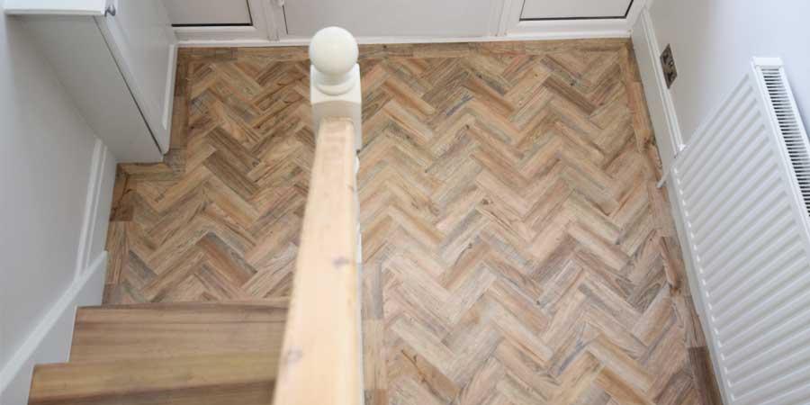 Installation of Parquet Flooring in Flixton