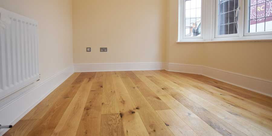 Installation of V4 Flooring - Rustic Oak