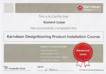 Approved Karndean Fitters in Manchester