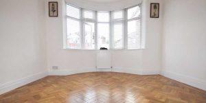 Installation of Karndean Blonde Oak Parquet flooring in Chorlton M21