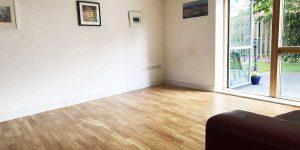 Installation of V4 Wood flooring in Chorlton
