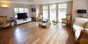 Installation of Karndean flooring in Hale