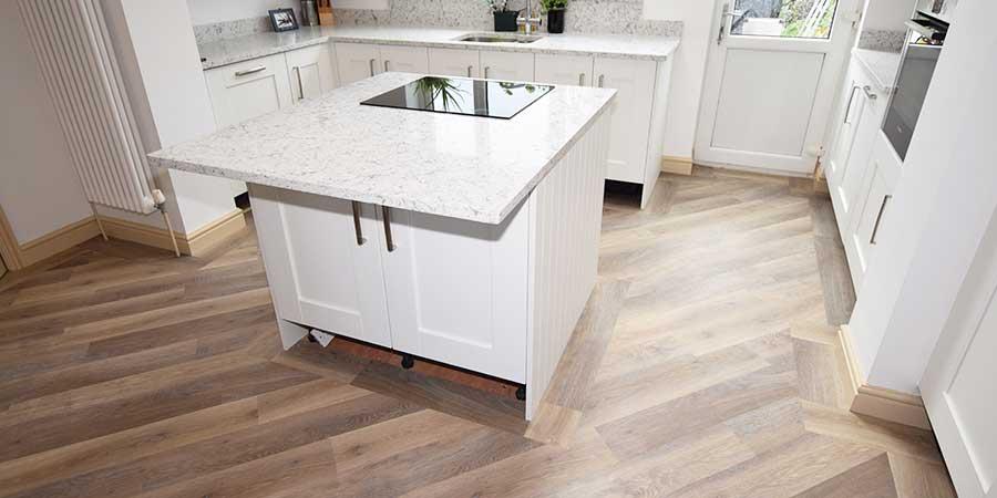 Installation of Karndean flooring in Worsley in M28