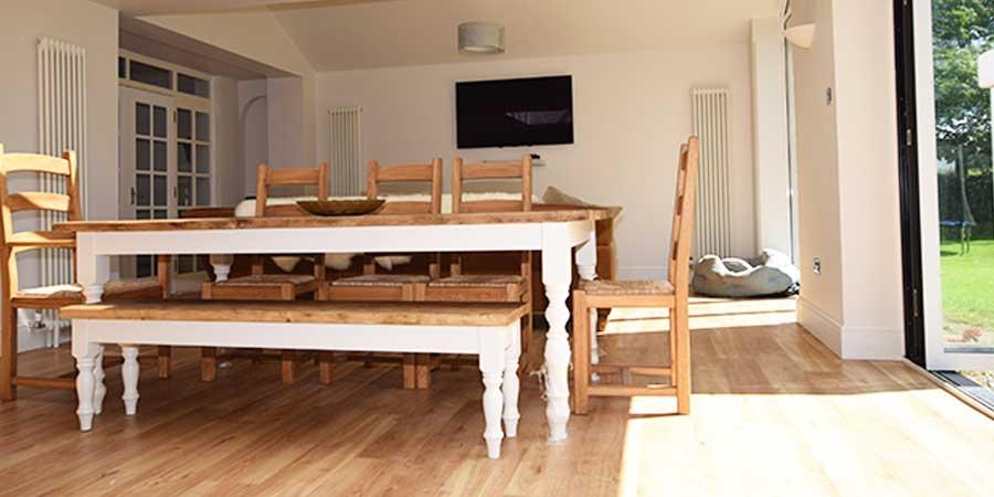 Installation of Karndean luxury vinyl flooring in Mobberley, Cheshire