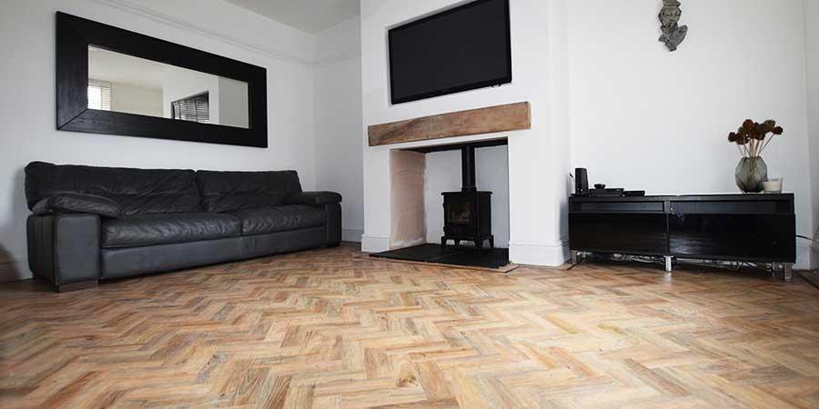 Installation of Polyflor LVT Flooring in Timperley