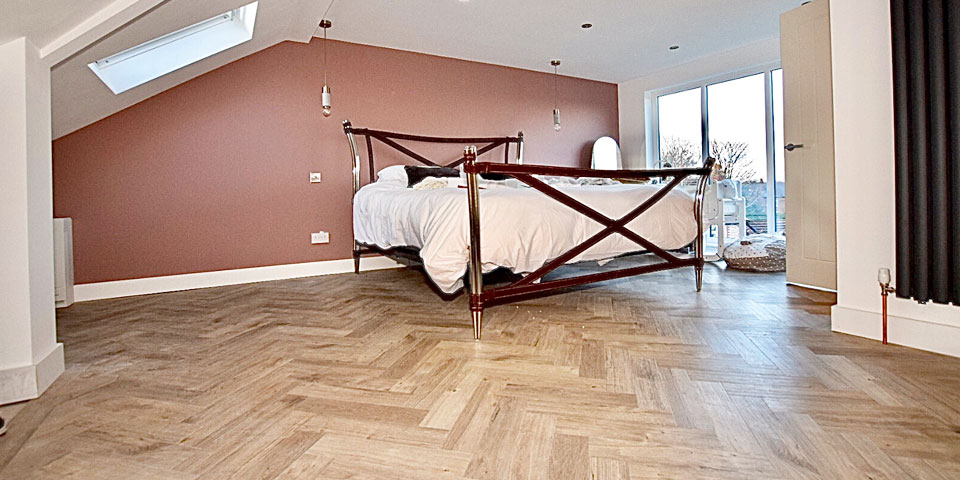 Installation of Amtico flooring in Stockport