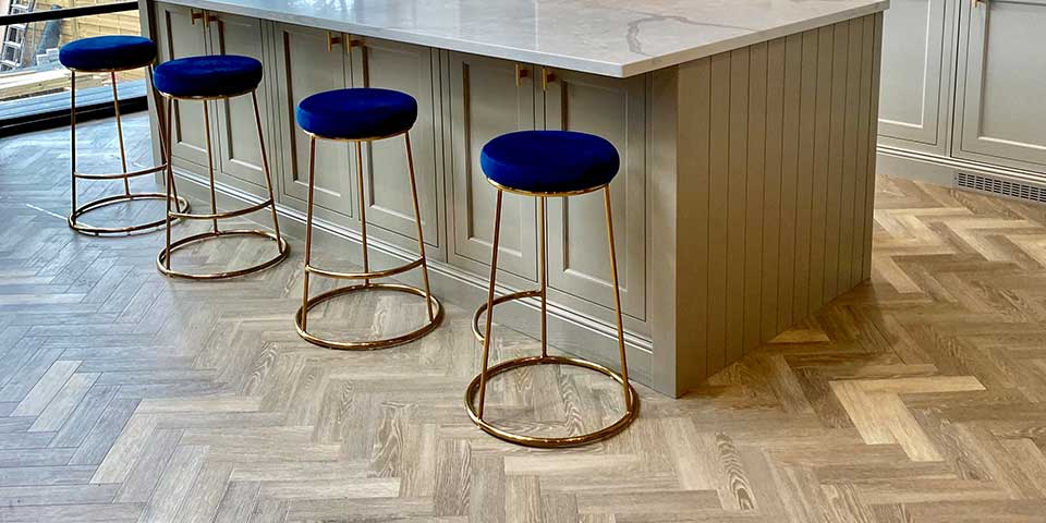 Installation of Green Flor Parquet Flooring in Altrincham