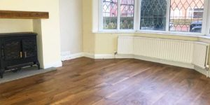 Installation of Karndean Wellington Oak in Sale M33