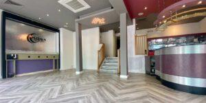 Installation of Amtico Form Drift Oak in Manchester Restaurant