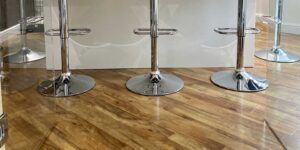 Installation of Amtico Farmhouse Oak LVT Flooring in Todmorden