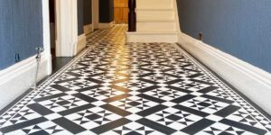 Amtico Decor Corona Victorian Tiles in Urmston Installation