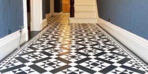Amtico Decor Corona Victorian Tiles in Urmston Installation