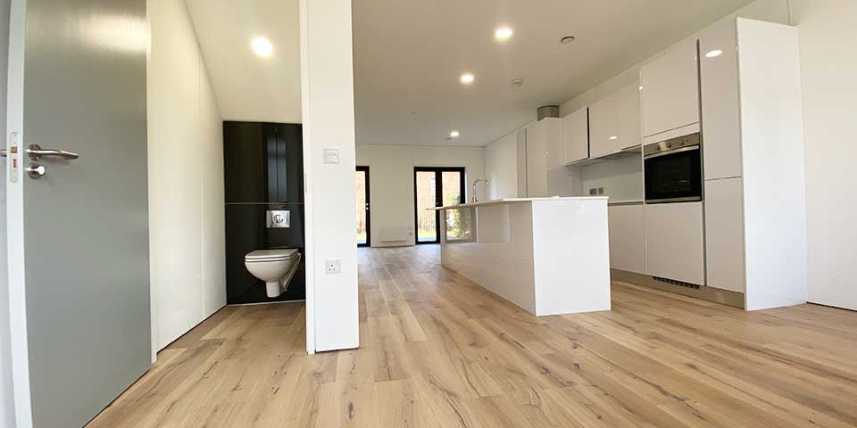Installation of Home Choice Engineered Wood Flooring in Ancoats