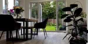 Karndean Knight Tile Grey Limed Oak Planks Installation