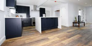 Installation of Project Floors Charnwood Oak in Runcorn