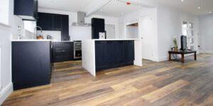 Installation of Project Floors Charnwood Oak in Runcorn