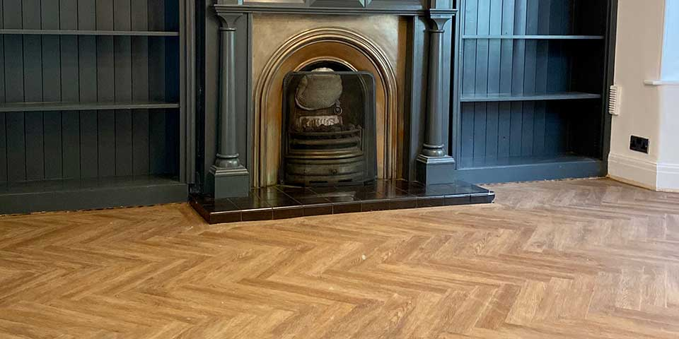 Project Floors Rockingham Oak installation in Ashton Under Lyne