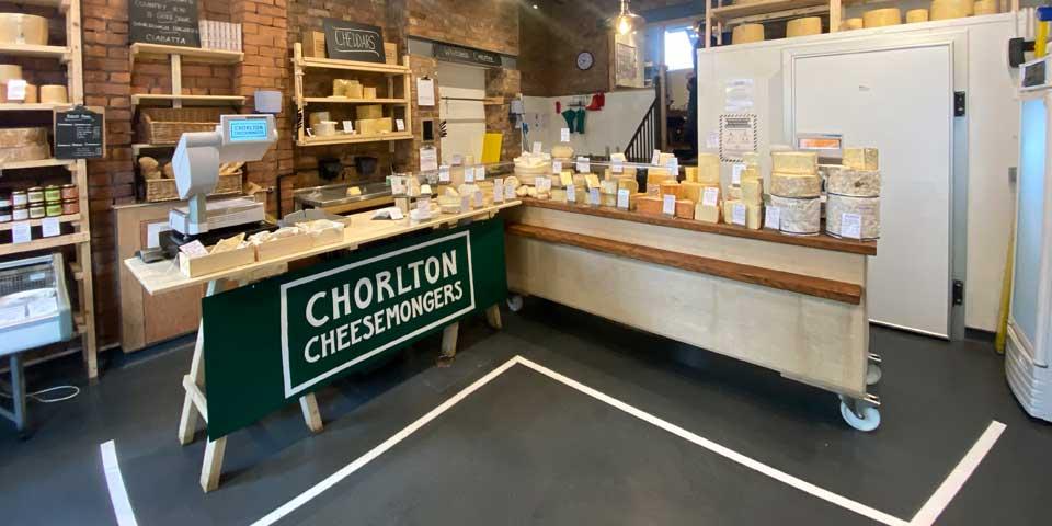 Installation of Polysafe Commercial Flooring in Chorlton